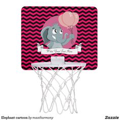 Elephant cartoon mini basketball backboards
