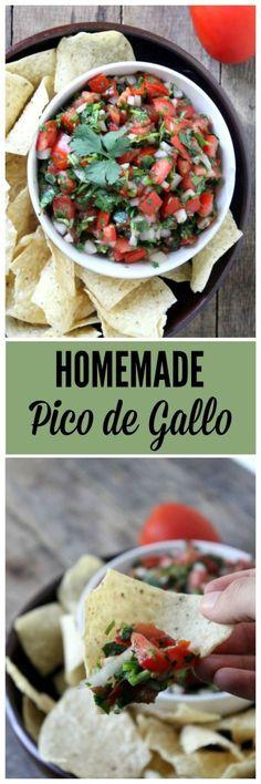Homemade Pico de Gallo