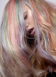 My Little Pony Rainbow Pastel Hair with Anne Sophie Monrad | NEW YORK FASHION BEAUTY PHOTOGRAPHER- EDITORIAL COMMERCIAL ADVERTISING PHOTOGRAPHY
