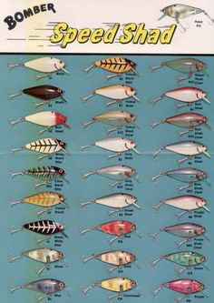 Bait And Tackle Fishing B Vintage Lures