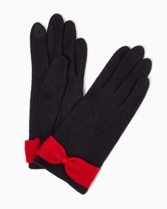 Cierra Bow E-touch Gloves | Fashion Accessories - Cold Weather | charming charlie
