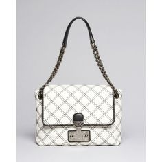 Marc Jacobs Handbags - Marc Jacobs white & black quilted bag