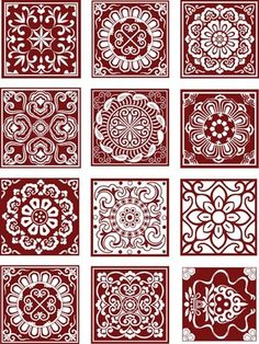 Ideas For Wood Carving Ideas Free Pattern Pictures Paper Cutting Patterns, Stencil Patterns, Tile Patterns, Pattern Art, Textures Patterns, Pattern Design, Floral Patterns, Free Pattern, Vector Pattern