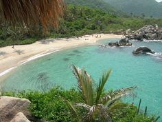 Tayrona National Park Beach, Colombia