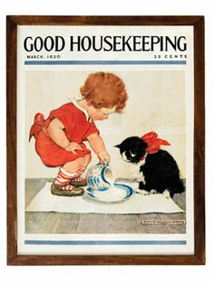 Enjoy vintage Good Housekeeping cover art from the magazine archives.
