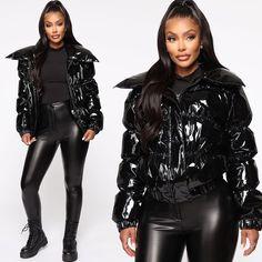 Expensive Looks All Season 👀⠀ Searc Marrakech, Puffer Jackets, Latex, Leather Pants, Fall Winter, Bodysuit, Seasons, Stylish, Agadir