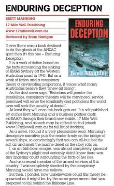 Book Review - Enduring Deception. Published in issue #6, June 2005