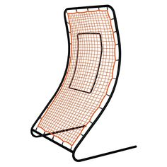 Champro Infinity Pitchback Screen x The Ultimate Training Tool! Infinite Rebound Angles w/NO Adjustment Required Strike Zone Outlined and Stakes Included Powder Coated 1 Steel Tube Frame Weatherized 30 Ply P. Net with 1 Mesh Easy Set-Up; Baseball Pitching, 42 Inch, Rebounding, Infinity, Effort, Traditional, Sports, Top, Hs Sports