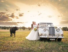 Unexpected Guest Appears In Their Wedding Photos. Unbelievable! http://foxbuzz.com/unexpected-guest-comes-to-wedding/