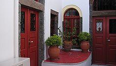 Design by Fire Classic Doors, Doorway, Santorini, Stairs, Fire, Windows, Bucket, Dreams, Design