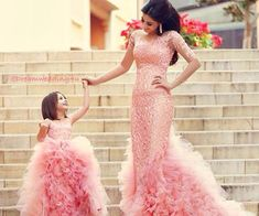 Mother Daughter Princess Mommy and Baby Dress Flower Girls, Pink Flower Girl Dresses, Girls Dresses, Mommy And Me Dresses, Mother Daughter Dresses Matching, I Dress, Baby Dress, Dress Set, Girls Summer Outfits