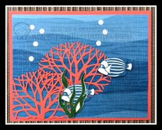 Fish Linda Bauwin Your CARD-iologist  helping you create cards from the heart.