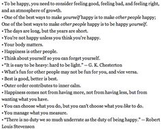 Who would think I would need so many reminders or lessons on how to be a happier person?  Isn't that sad?