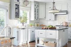 Grey blue kitchen colors kitchen kitchen color design ideas for your blue small remodel u shaped designs grey walls paint best grey paint color for kitchen Kitchen Design Color, Home Decor Kitchen, Kitchen Design Small, Blue Kitchen Designs, Kitchen Remodel, Kitchen Decor, Best Kitchen Colors, Cottage Kitchens, Kitchen Design