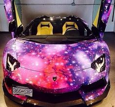 Galaxy Lamborghini😍😍😍 Galaxy Car b4cb5f562