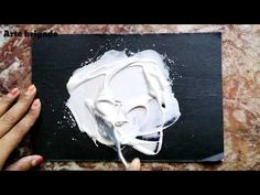 SECRET OF MY TEXTURE PASTE! 😱.HOW to make texture paste at home for Acrylicpainting - YouTube Plaster Crafts, Plaster Art, Textured Canvas Art, Collage Portrait, Texture Paste, My Art Studio, Sculpture Painting, Texture Painting, Diy Wall Art