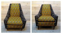 Inspiration: african print armchair