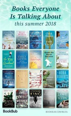 Ultimate list of must reads that everyone is talking about for summer! Would be great for a beach book while tanning or while traveling to your vacation destination. This list features a mix of romance thrillers and humor so theres something for everyone. Books To Read 2018, Best Books To Read, I Love Books, My Books, Reading Books, Teen Books, Great Books, Books To Read For Women, Must Read Fiction Books