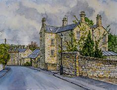 Georgian Houses, Warkworth, Northumberland by jeffsmith1955