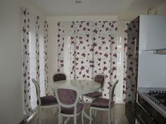 Perdele si draperii bucatarie - KaroPerdele.ro Curtains, Home Decor, Blinds, Decoration Home, Room Decor, Draping, Home Interior Design, Picture Window Treatments, Home Decoration