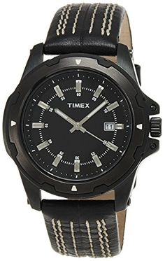 Timex Fashion Analog Black Dial Mens Watch  D904 *** Find out more about the great product at the image link.