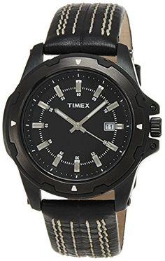 9aea6f008f14 Amazon.com  Timex Fashion Analog Black Dial Men s Watch - D904  Watches