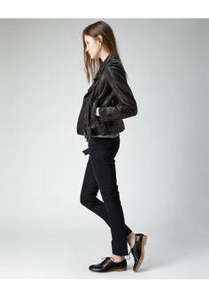 R13 / Leather Moto Jacket | La Garçonne