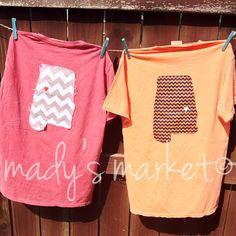 Women's Gameday Pocket Shirt Alabama Auburn by MadysMarket on Etsy, $22.00