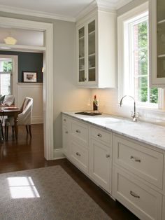 benjamin moore stonington gray - miss this color! Primary color in my old house.