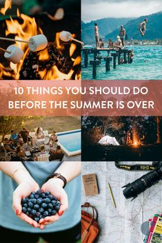 It may seem like summer will last forever, but it'll be over before you know it. Make the most of your summer with these 10 summer activities.