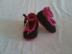 #zapatos #tejidos #crochet #bebe