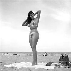 """The Pinup Model's Guide To Body Confidence #refinery29  http://www.refinery29.com/bettie-page-queen-of-curves-photos#slide-1  Do you — for real.  Page, who was once turned down by Ford Modeling Agency for being """"too curvy,"""" became arguably the most influential model of all time. She ranked ninth last year on Forbes' list of top-earning deceased stars, and she's been a source of style inspiration for every..."""