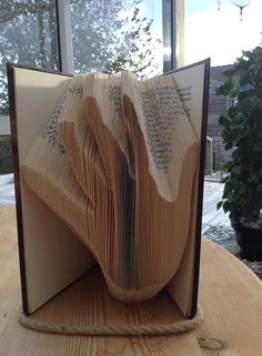 Hand Book Folding Pattern by CraftyHana on Etsy £2.50