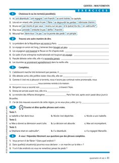 Vocabulaire Progressif du Français : Claire Miquel : Free Download, Borrow, and Streaming : Internet Archive France, Free Download, French Language, Internet, Image, Learn French, School, Language Lessons, Grammar