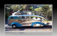 Randy Grubb's Deco Liner: A motorhome masterpiece in motion ...