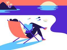 Beach - Anna Hurley • Design + Illustration