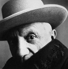 Pablo Piccasso, photo Irwing Penn (1960)