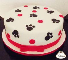 Cake dog Bolo patinhas Xicake