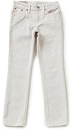 Ralph Lauren Childrenswear Big Boys 8-20 Skinny-Fit Five-Pocket Jeans