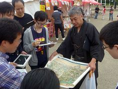 姫路城で「マッピング・パーティー」-ネット地図「OSM」の愛好家ら集まる(写真ニュース)