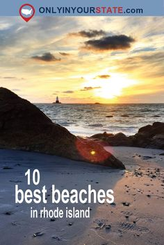 Travel | Rhode Island | Beaches | Coastal | Beach Day | Explore | Places To Go | Best Beaches | Sand | Summer | Swimming | Ocean | Weekend