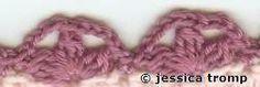 Crochet Borders Edgings - Chart