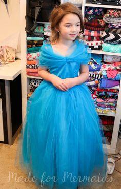 Free size 5 Cinderella costume pattern