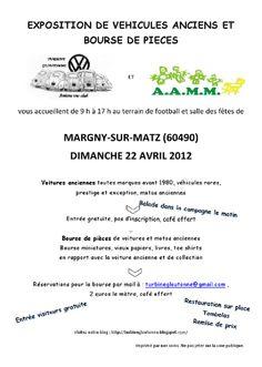 4. Bourse Expo de Margny-sur-Matz.  Orgnaisé par La Turbine Gloutonne