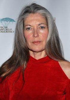 Gloria Flora pictured at The 17th Annual Artists for the African Rainforest Benefit.