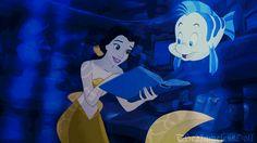 As animações são tão reais que todas parecem estar no mundo da Ariel