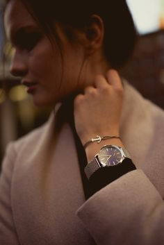 Together by Thomas Sabo | being single or in a relationship at Christmas?  Silver watch and bracelets for women