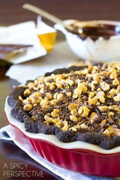 Chocolate Peanut Butter Pie   ASpicyPerspective...