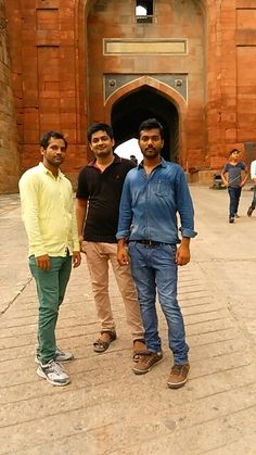 Me deepak with three friends ....tariq and sajid ...with great time together ...