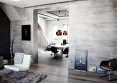 KREADIANO #limeplaster ANTIKA structure 06 Livingroom Details #concretelook #betonoptik #concrete #betonwand #wohnzimmeridee